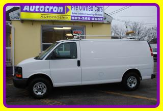Used 2010 GMC Savana 2500 3/4 Ton Cargo Van, PWR. Locks, Roof Rack for sale in Woodbridge, ON