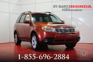 Used 2010 Subaru Forester 2.5XT LIMITED + PANO + CUIR + IMPECCABLE for sale in St-Basile-le-Grand, QC