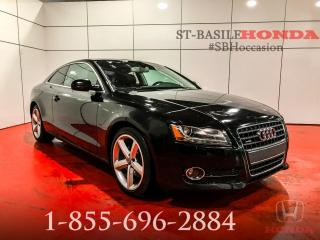 Used 2012 Audi A5 PREMIUM + BLUETOOTH + TOIT + WOW !!! for sale in St-Basile-le-Grand, QC