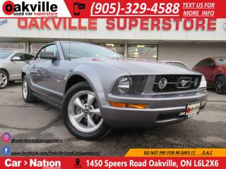 Used 2007 Ford Mustang V6 | MANUAL | PONY | CONVERTIBLE | for sale in Oakville, ON