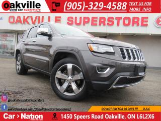 Used 2015 Jeep Grand Cherokee LIMITED | PANO ROOF | NAVI | LEATHER for sale in Oakville, ON