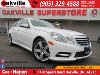 Used 2013 Mercedes-Benz E-Class E 350 4MATIC | LOW KMS | SUNROOF | NAVI for sale in Oakville, ON
