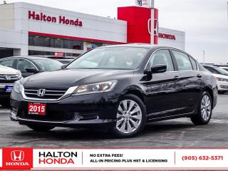 Used 2015 Honda Accord LX|SERVICE HISTORY ON FILE for sale in Burlington, ON