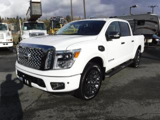 Used 2017 Nissan Titan Platinum Reserve Crew Cab 4WD for sale in Burnaby, BC