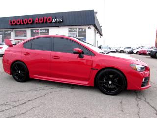 Used 2016 Subaru Impreza WRX STi STI SPORT-TECH PACKAGE NAVIGATION CAMERA CERTIFIED for sale in Milton, ON