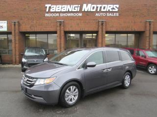 Used 2015 Honda Odyssey EX-L | NAVIGATION | NO ACCIDENT | LEATHER | SUNROOF |PWR DOR for sale in Mississauga, ON