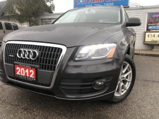 Used 2012 Audi Q5 quattro 4dr 2.0L Premium Plus Navi and back up cam blind spo for sale in Brampton, ON