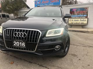Used 2016 Audi Q5 quattro 4dr 2.0T Progressiv with s-line and Dynamic mode for sale in Brampton, ON