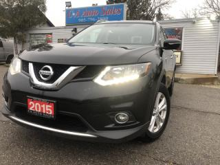 Used 2015 Nissan Rogue AWD 4dr SV FAMILY TEC PKG 7 SEATS  Accident free for sale in Brampton, ON
