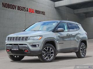 Used 2019 Jeep Compass Trailhawk Elite*NAV*Leather*Roof*Beats*Pwr Gate for sale in Mississauga, ON
