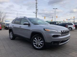 Used 2018 Jeep Cherokee Limited LOW KMS!!**Leather Remote Startt** for sale in Mississauga, ON