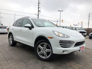Used 2013 Porsche Cayenne Leather**Power Sunroof** for sale in Mississauga, ON