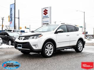 Used 2015 Toyota RAV4 Limited AWD ~Nav ~Backup Cam ~Heated Leather for sale in Barrie, ON