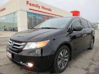 Used 2015 Honda Odyssey Touring, HONDA CERTIFIED! for sale in Brampton, ON