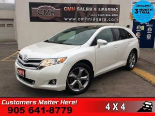 Used 2016 Toyota Venza AWD XLE  V6 AWD NAV ROOF LEATH CAM 20 -ALLOYS HS MEM for sale in St. Catharines, ON