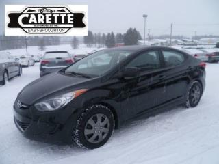Used 2013 Hyundai Elantra GL for sale in East broughton, QC