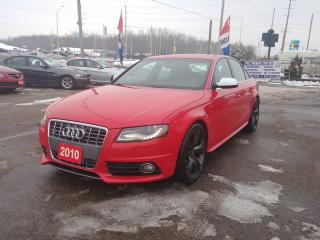 Used 2010 Audi S4 Premium for sale in Barrie, ON