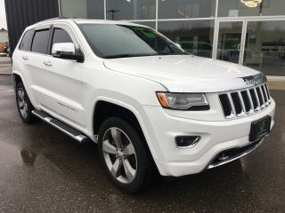 Used 2014 Jeep Grand Cherokee Overland for sale in Ingersoll, ON