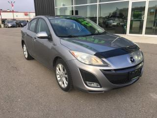 Used 2010 Mazda MAZDA3 GT, New Battery for sale in Ingersoll, ON