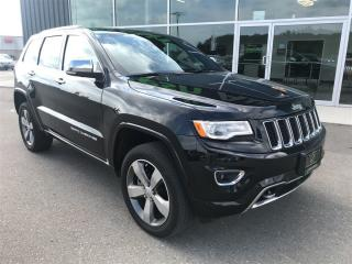 Used 2016 Jeep Grand Cherokee Overland, Diesel, Remote Start, Tow Package for sale in Ingersoll, ON