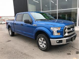 Used 2015 Ford F-150 Crew 4x4, Blue-tooth, 1 owner truck for sale in Ingersoll, ON