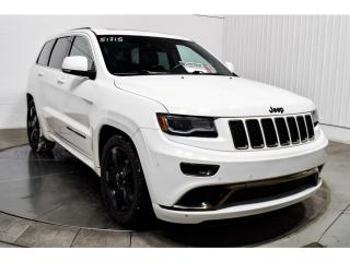 Used 2015 Jeep Grand Cherokee Overland AWD for sale in Île-Perrot, QC