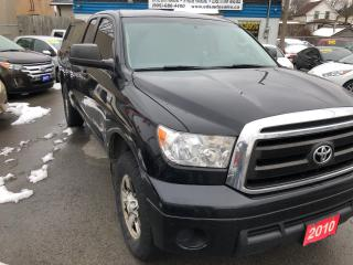 Used 2010 Toyota Tundra SR5 CREW CAB 4X4 for sale in St Catharines, ON