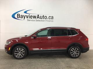 Used 2018 Volkswagen Tiguan Comfortline - TSI! BSA! HTD LTHR! PANOROOF! REVERSE CAM! ANDROID AUTO! APPLE CARPLAY! for sale in Belleville, ON