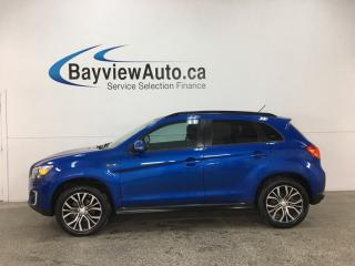 Used 2015 Mitsubishi RVR GT - PANOROOF! PUSH START! HEATED SEATS! REVERSE CAM! BLUETOOTH! for sale in Belleville, ON