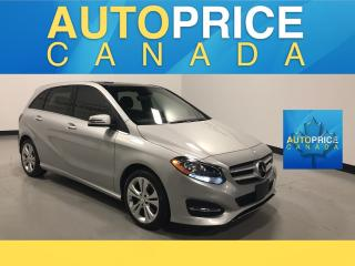 Used 2015 Mercedes-Benz B-Class Sports Tourer AWD|NAVIGATION|PANOROOF|LEATHER for sale in Mississauga, ON