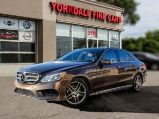 Used 2016 Mercedes-Benz E-Class E400 4Matic. AMG. Pano. Navi. Cam. Original for sale in Toronto, ON