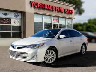 Used 2014 Toyota Avalon Limited Navigation. Camera. Leather. Roof. Clean Car for sale in Toronto, ON