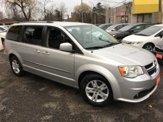 Used 2011 Dodge Grand Caravan Crew/ LEATHER/ NAVI/ CAM/ DUAL DVD/ FULLY LOADED! for sale in Scarborough, ON