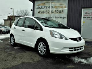 Used 2013 Honda Fit ***LX,BAS KILO,AIR CLIMATISE*** for sale in Longueuil, QC