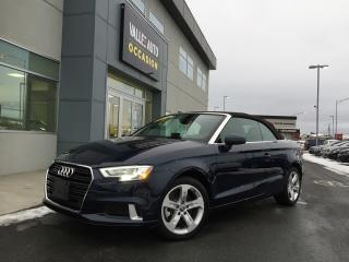 Used 2018 Audi A3 2.0T Komfort for sale in St-Georges, QC