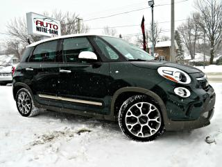 Used 2014 Fiat 500 L -- PNEUS HIVER NEUFS - GPS - CUIR - TOIT for sale in Repentigny, QC
