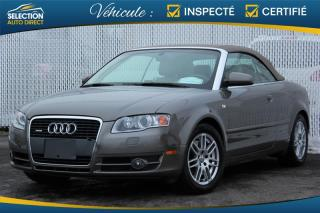 Used 2007 Audi A4 2007 2DR CABRIO for sale in Ste-Rose, QC