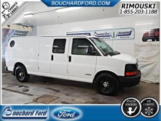 Used 2005 Chevrolet Express G 2500 for sale in Rimouski, QC