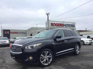 Used 2014 Infiniti QX60 HYBRID AWD - NAVI - DUAL DVD - PANO ROOF for sale in Oakville, ON