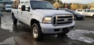 Used 2005 Ford F-350 SD Lariat Crew Cab 4WD for sale in West Kelowna, BC