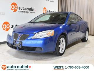 Used 2006 Pontiac G6 GT Auto; SUNROOF, LOW KM, FACTORY REMOTE START! for sale in Edmonton, AB