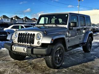 Used 2018 Jeep Wrangler UNLIMITED SAHARA *GPS*TOIT GRIS* for sale in Brossard, QC