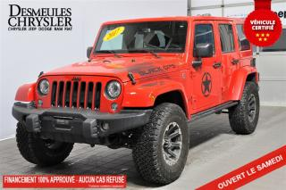 Used 2017 Jeep Wrangler Unlimited Sahara **DÉMO** BLACK OPS! for sale in Laval, QC