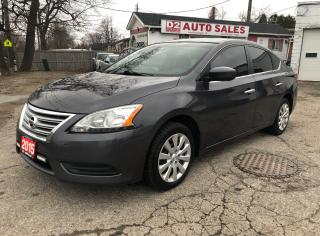 Used 2015 Nissan Sentra Certified/Automatic/Accident Free/Bluetooth for sale in Scarborough, ON
