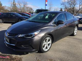 Used 2017 Chevrolet Cruze BACK-UP CAMERA*HEATED Seats - Driver AND Passenger for sale in London, ON