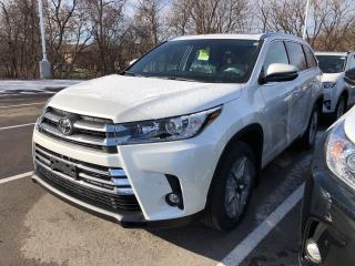Used 2019 Toyota Highlander LIMITED  for sale in Pickering, ON