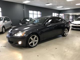 Used 2008 Lexus IS 250 6-SPEED MANUAL*LEATHER*SUNROOF*CERTIFIED* for sale in North York, ON