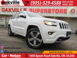 Used 2015 Jeep Grand Cherokee OVERLAND | TOP OF THE LINE | FULLY LOADED for sale in Oakville, ON