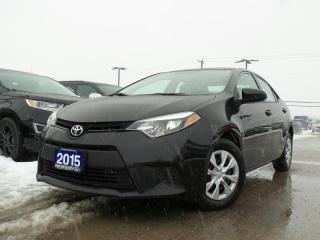 Used 2015 Toyota Corolla CE 1.8L 4CYL MANUAL for sale in Midland, ON
