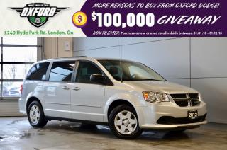 Used 2012 Dodge Grand Caravan SXT -  rust and under coated, full stow and go for sale in London, ON